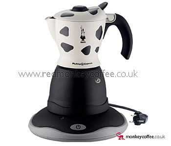 Bialetti ELECTRIC Mukka Express UK - Stove-Top Cappuccino Latte using Electric Stove Top Coffee ...