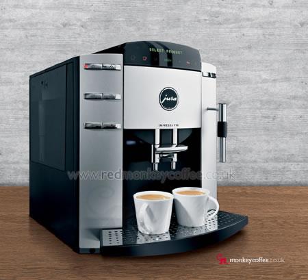 Jura Impressa F90 Automatic Espresso Machine And Bean