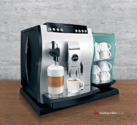 jura impressa x5 one touch cappuccino office coffee maker automatic x5 package bean to cup. Black Bedroom Furniture Sets. Home Design Ideas