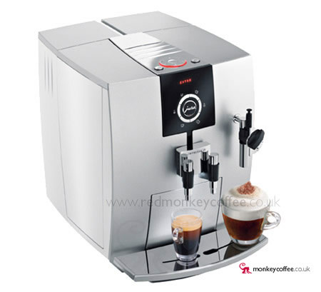 jura uk impressa j5 bean to cup automatic coffee maker at call 0800 321 3357 red monkey. Black Bedroom Furniture Sets. Home Design Ideas