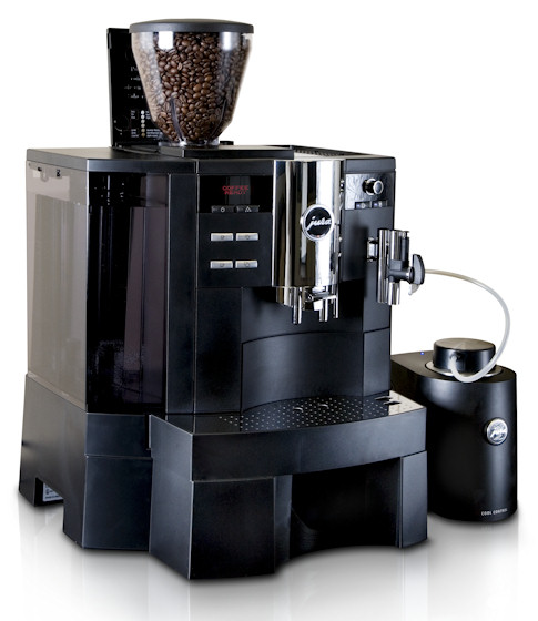 jura xs90 one touch bean to cup commercial coffee machine uk red monkey coffee. Black Bedroom Furniture Sets. Home Design Ideas