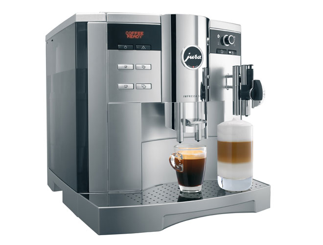 jura impressa s9 one touch cappuccino coffee maker red. Black Bedroom Furniture Sets. Home Design Ideas